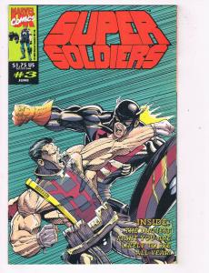 Supersoldiers (1993) #3 Marvel Comic Book UK Welsh Squaddies U.S. Agent HH4 AD38