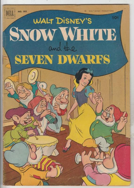 Four Color #382 (Sep-67) FN+ Mid-High-Grade Snow White and the Seven Dwarfs