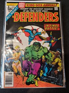 DEFENDERS #1 KING SIZE ANNUAL VF