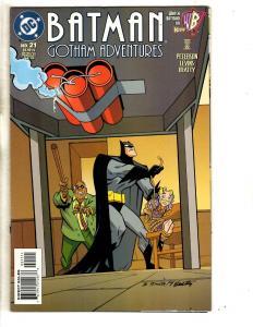 Lot Of 4 Batman Gotham Adventures DC Comic Books # 21 23 24 25 NM 1st Prints TD6