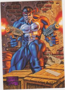 1995 Marvel Masterpieces #81 Punisher