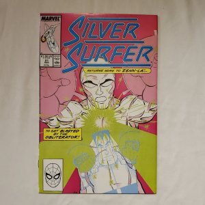 Silver Surfer 21 Near Mint Art by Dave Cockrum