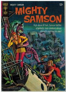 MIGHTY SAMSON 5 VG Mar. 1966 COMICS BOOK