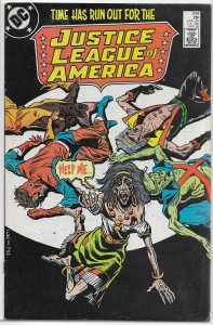 Justice League of America   vol. 1   #249 FN