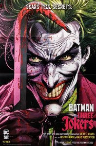 Batman Three Jokers #1 Folded Promo Poster (24 x 36) New! [FP29]