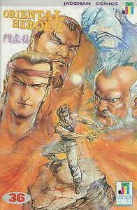 Oriental Heroes #36 VF/NM; Jademan | save on shipping - details inside
