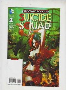 SUICIDE SQUAD FREE COMIC BOOK DAY #1 2016 DC  / UNREAD,  / HIGH