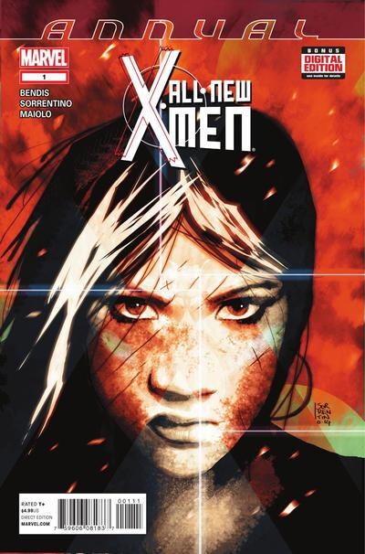 All-New X-Men (2013 series) Annual #1, NM (Stock photo)