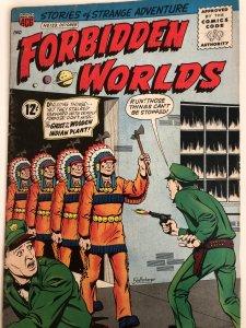 Forbidden worlds #123,VG,Schaffenberger cover..awesome