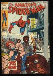 Amazing Spider-Man #99 VG+ 4.5 Johnny Carson Appearance!