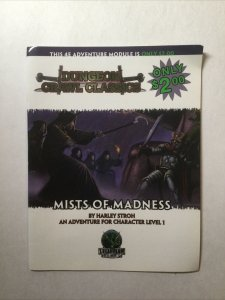 Dungeon Crawl Classics Mists of Madness RPG Softcover Goodman Games