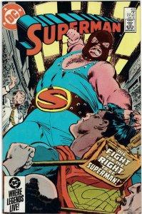Superman #406  NM