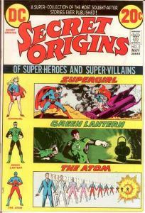 SECRET ORIGINS (1973) 2 VF-NM May 1973 COMICS BOOK