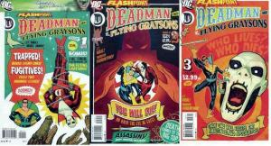 FLASHPOINT DEADMAN & FLYING GRAYSONS (2011)1-3 COMPLETE