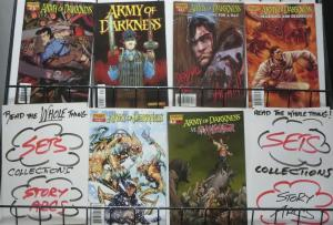 ARMY OF DARKNESS SAMPLER! (Dynamite, 2006) 6 books- VF or Better Bruce Campbell!