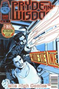 X-MEN: PRYDE & WISDOM (1996 Series) #3 NEWSSTAND Near Mint Comics Book