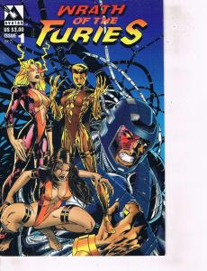 Lot Of 2 Comic Books Avatar Wrath of The Furies #1 and Manga Shi 2000 #1 BH50