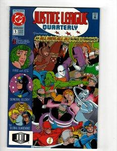 Justice League Quarterly #5 (1991) SR8