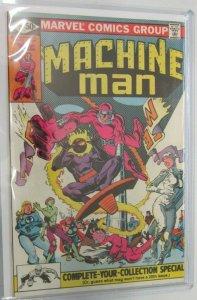 Machine man last issue #19 5.0 VG/FN (1981)