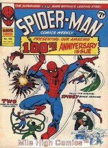 SPIDER-MAN WEEKLY  (#229-230) (UK MAG) (1973 Series) #100 Very Fine