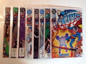 Action Comics 661 662 665 666 667 668 669 670 Near Mint Lot Set Run