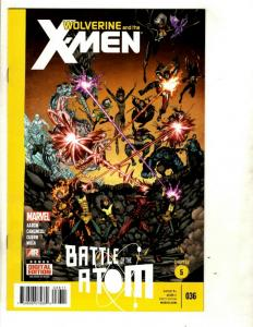 9 Wolverine and the X-Men Marvel Comics # 35 36 37 38 39 40 41 42 Annual 1 CJ15