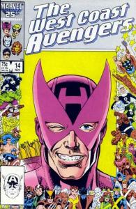 West Coast Avengers (1985 series) #14, NM- (Stock photo)