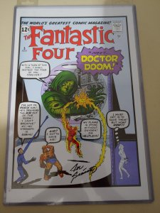​Fantastic Four #5 print signed by Joe Sinnot w/coa