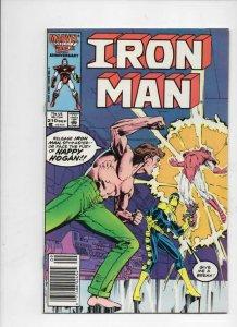 IRON MAN #210, VF Tony Stark, Happy, 1968 1986, more IM in store, Marvel, UPC