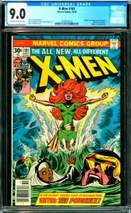 X-Men #101 CGC Graded 9.0 Origin and 1st appearance of Phoenix. Black Tom Cas...