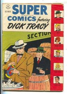 Super Comics #113 1947- Dick Tracy Cover-Tiny Tim-Winnie Winkle- VG