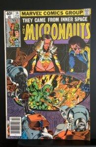 Micronauts #14 (1980)