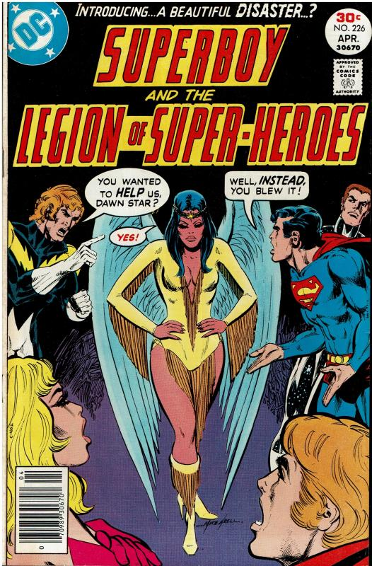 Superboy and the Legion of Super Heroes #226, *KEY* 6.0 or better, 1st Dawnstar