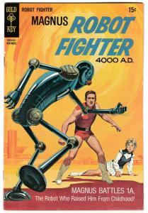 Magnus Robot Fighter #28 (Gold Key, 1969) FN/VF