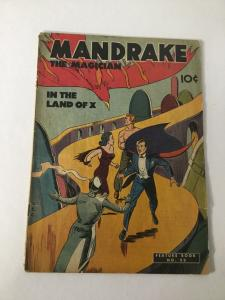 Feature Book 52 Magician The Mandrake 52 Gd/Vg 3.0 King Features GA