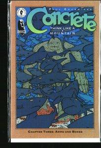 Concrete: Think Like a Mountain #3 (1996)
