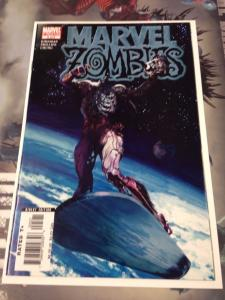 Marvel Zombies #5 2nd printing NM Silver Surfer #1 Homage
