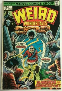 WEIRD WONDER TALES#11 FN 1975 MARVEL BRONZE AGE COMICS