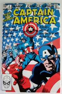 CAPTAIN AMERICA Annual #6 Marvel Comics ID#MBX2