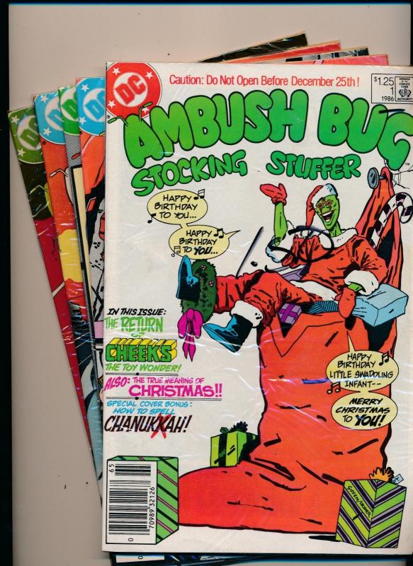 DC Comics AMBUSH BUG #1-5 FINE/VERY FINE (HX765)