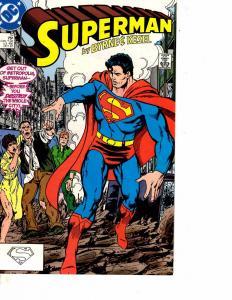 Lot Of 5 Superman DC Comic Books #10 11 12 13 14 Batman  WT15