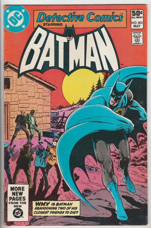 Detective Comics #502 (May-81) VF/NM High-Grade Batman, Robin