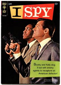 I SPY #1 1966-GOLD KEY-1ST ISSUE-ROBERT CULP-BILL COSBY-TV PHOTO COVER-VF+