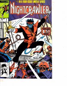 Lot Of 2 Comic Books Marvel Nightcrawler #1 and Nth Man #10 Thor   WT21
