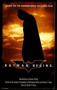 Batman Begins Movie Novelization by Denny O'Neil 1st Edition Paperback Near Fine
