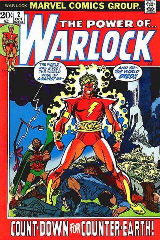 Warlock (1st Series) #2 FN; Marvel | save on shipping - details inside