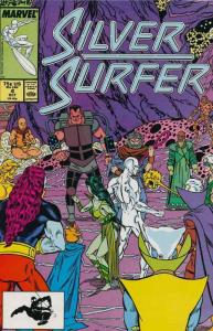 SILVER SURFER 25-Different, Marvel's Greatest Hero, Ins