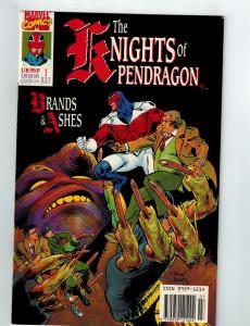 The Knights Of Pendragon # 1 VF/NM Marvel Comic Book Alan Davis Series S79