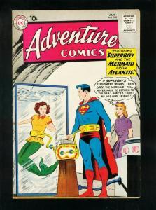 ADVENTURE COMICS #280 1961-SUPERBOY-AQUAMAN-CONGORILLA-MERMAID COVER-vf plus VF+