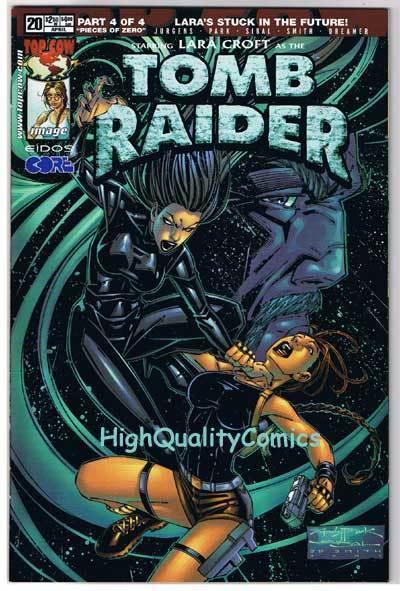TOMB RAIDER #20, NM+, Lara Croft, Andy Park, 1999, more TR in store